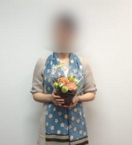 S様ご結婚報告201604(結婚相談所ミリアム大阪梅田ラウンジ)